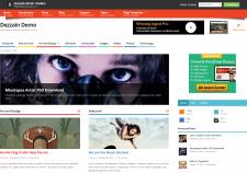 Dezzain Demo Live Preview of Dezzain WordPress Theme