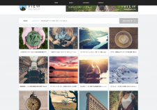VIEW  tcd032    WordPressTheme「VIEW  tcd032 」デモサイト